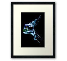 Sprite a splash Framed Print