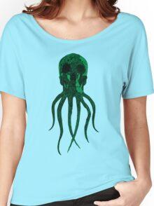 OCTOSKULL - GREEN Women's Relaxed Fit T-Shirt