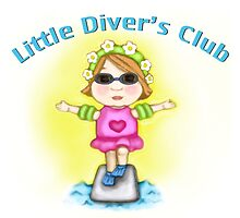 Little Diver's Club Girl by Jamie Wogan Edwards