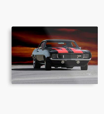1969 Camaro Z/28  Metal Print