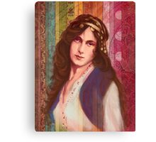 Gypsy Rose Canvas Print