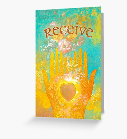 Receive Greeting Card