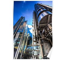 Lloyd's And Willis Group London Poster