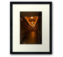 Hartshorn Alley Framed Print