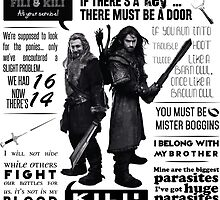 [The Hobbit] Fili & Kili - Quotes by Stilesism