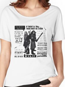 [The Hobbit] Fili & Kili - Quotes Women's Relaxed Fit T-Shirt