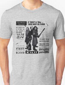 [The Hobbit] Fili & Kili - Quotes Unisex T-Shirt