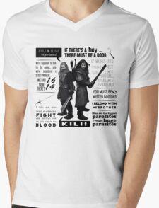 [The Hobbit] Fili & Kili - Quotes Mens V-Neck T-Shirt