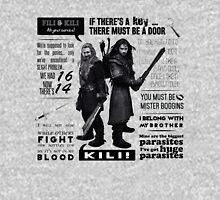 [The Hobbit] Fili & Kili - Quotes T-Shirt