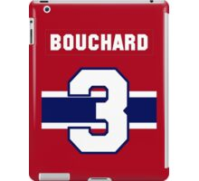 Butch Bouchard #3 - red jersey iPad Case/Skin