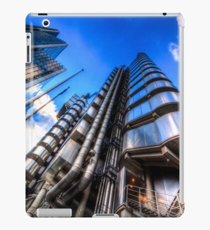 The Lloyd's of London Cheesegrater and Willis Group London iPad Case/Skin
