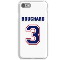 Butch Bouchard #3 - white jersey iPhone Case/Skin