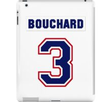 Butch Bouchard #3 - white jersey iPad Case/Skin