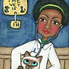 Vets With Pets Series:  Siamese Cat Visit's The Vet by Jamiecreates1
