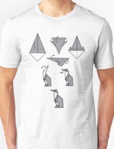 Origami Penguin Unisex T-Shirt