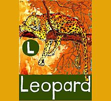 L is for Leopard by DavidDonovan