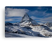 The Matterhorn from Zermatt Canvas Print