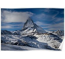 The Matterhorn from Zermatt Poster