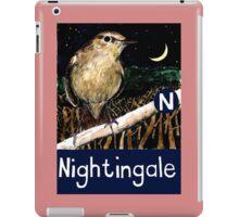 N is for Nightingale iPad Case/Skin