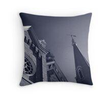Gothic Windows Throw Pillow