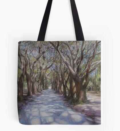 Avenue of the Oaks Tote Bag