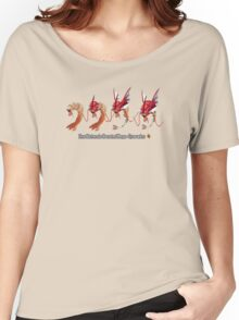 How Mega-Gyarados was Created Women's Relaxed Fit T-Shirt