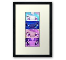 Princess Eyes Framed Print
