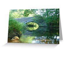 Clearbrook Bridge Greeting Card