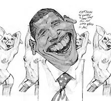 Obama Porky Love by meastbrook