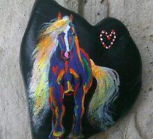 Rock 'N' Ponies - DARK HORSE DANCING by louisegreen