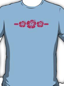 Three pink hibiscus T-Shirt