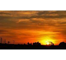 Sunset in Gauteng Photographic Print