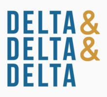 Delta Delta Delta by juststickit
