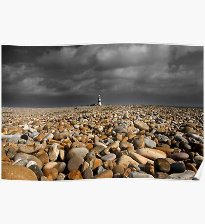 Orford Ness Lighthouse Poster