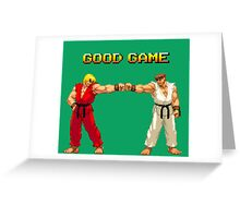 STREET FIGHTER - RYU & KEN Greeting Card