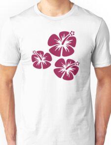 Hibiscus flowers Unisex T-Shirt