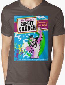 Credit Crunch Mens V-Neck T-Shirt