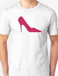 Red Shoe Pumps Unisex T-Shirt