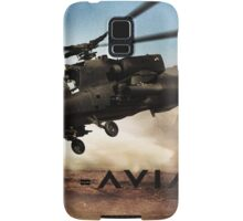 AH-64 Apache Helicopter Samsung Galaxy Case/Skin