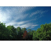 Pillow Clouds Photographic Print