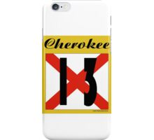 ALABAMA:  13 CHEROKEE COUNTY iPhone Case/Skin