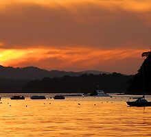 Poole Harbour Sunset by Captivelight