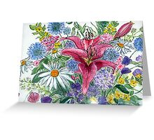 mixed bunch Greeting Card