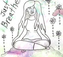 Just Breathe Affirmation by Eliza Fayle