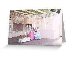 3 princesses Greeting Card