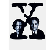 X-FILES - Scully & Mulder Photographic Print