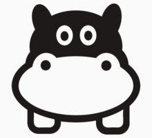 Comic hippo head Kids Clothes
