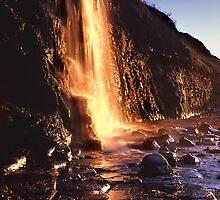 Sunset Falls by Captivelight
