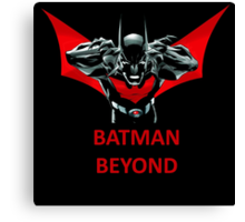 BATMAN BEYOND Canvas Print
