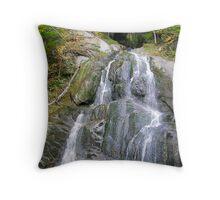 A Tranquill Waterfalls Throw Pillow